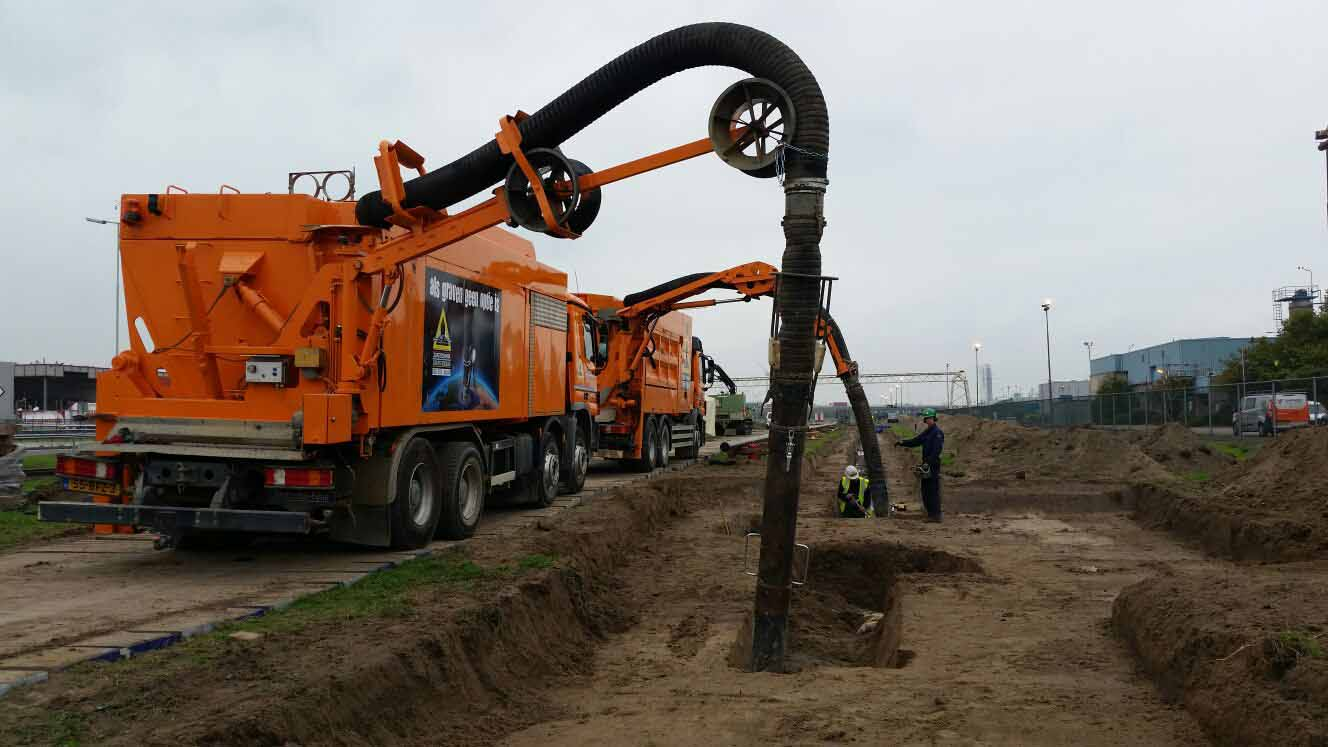 grondzuigmachine