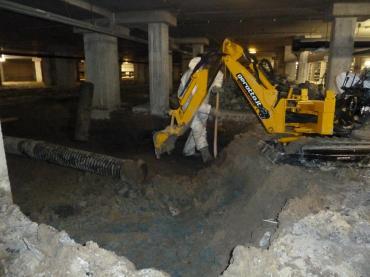 kruipruimte uitgraven